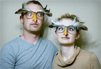 Wise Old Owl Glasses DIY