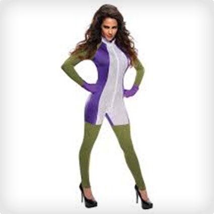 Women's Hulk Costume