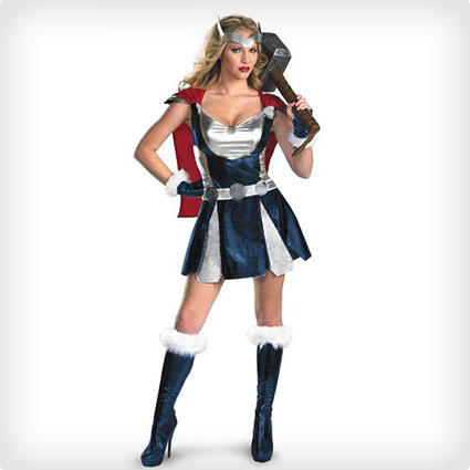 Women's Thor Cosplay Dress