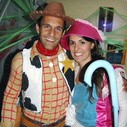 Woody and Bo Peep Costumes