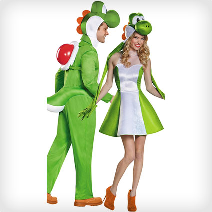 Yoshi Couples Costumes