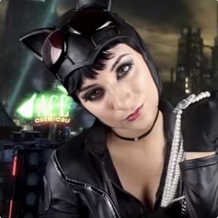 >Arkham City Catwoman Make Up