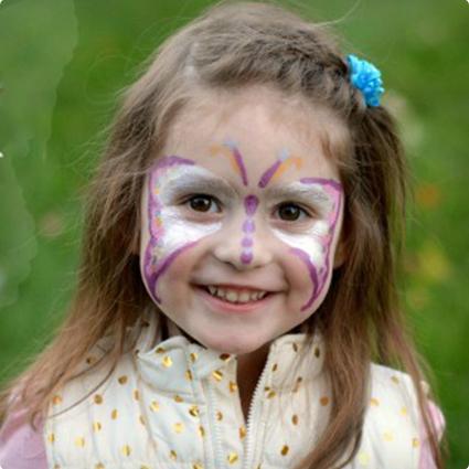 Beautiful Butterfly Make Up