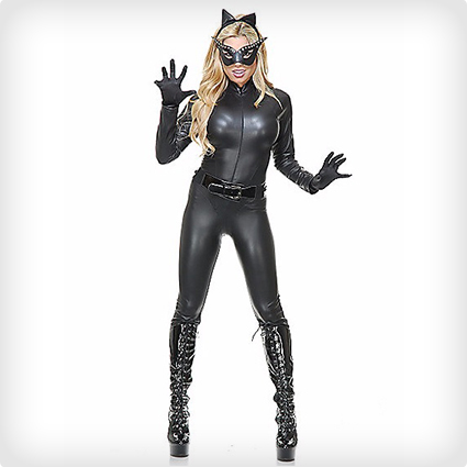 Black Catsuit & Mask