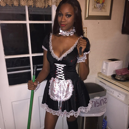 Bloody French Maid Costume  sc 1 st  Costume Yeti & 65 Super Sexy Halloween Costumes For Women | Costume Yeti