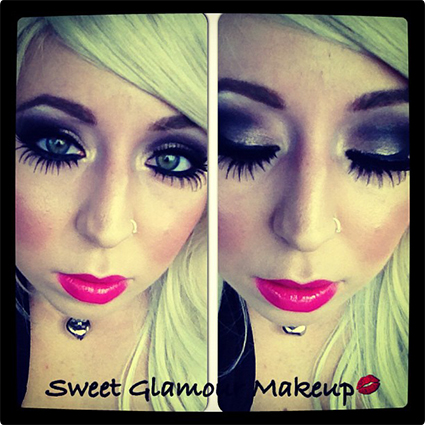 Catwoman Glamour Make Up Look