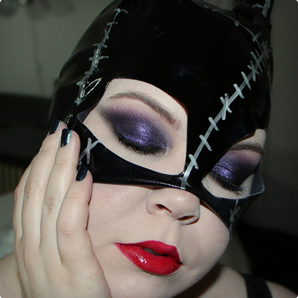 Catwoman Halloween Make Up Look