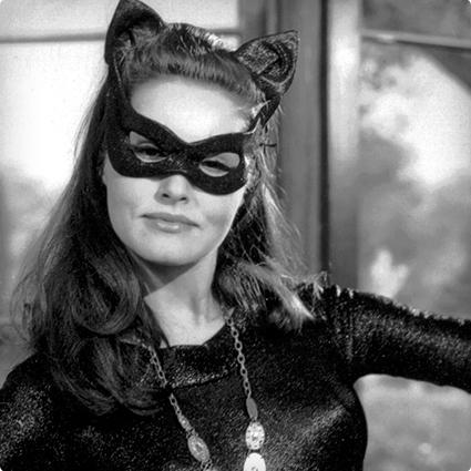 Catwoman Make Up & Nails