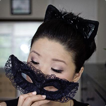 Catwoman Masquerade Make Up Look