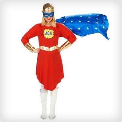 Comic Super Woman Maternity Costume