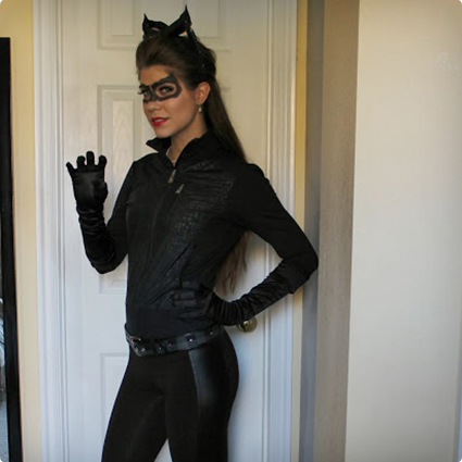 Creating a Catwoman Costume From Your Closet