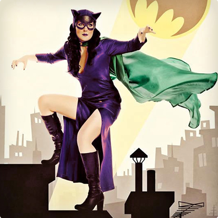 Custom Luxury Cat Woman Costume