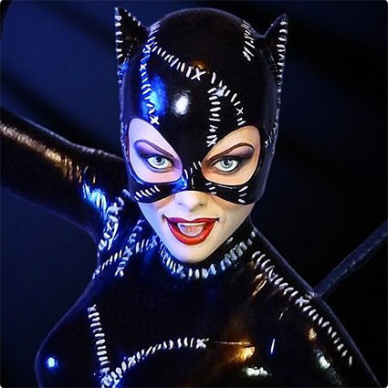 Cute Catwoman Make Up Look