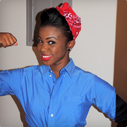 DIY Rosie The Riveter Costume