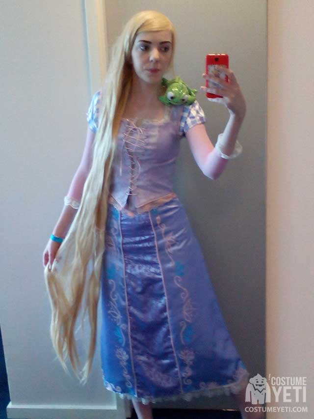 DIY Rapunzel from Tangled Costume  sc 1 st  Costume Yeti & DIY Rapunzel from Tangled Costume | Costume Yeti