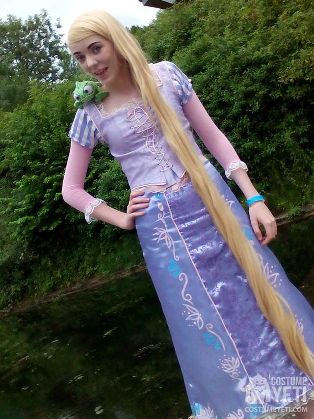 Diy Rapunzel From Tangled Costume Costume Yeti