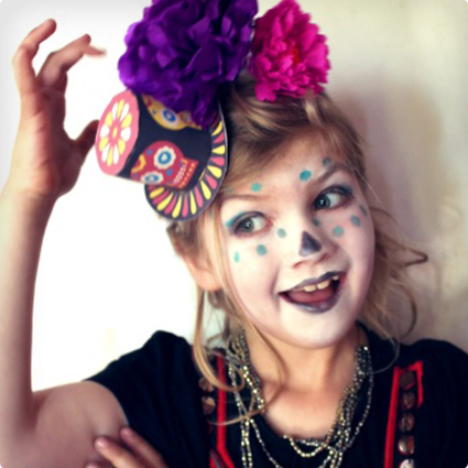 Day of the Dead Make up Tutorial
