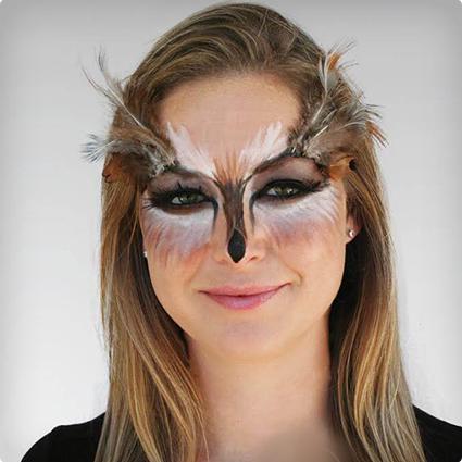 Easier Than It Looks Owl Make Up