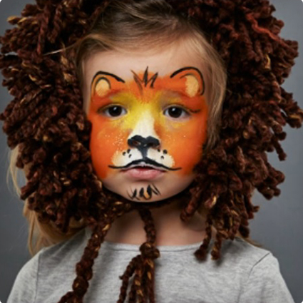 Easy Lion Make Up