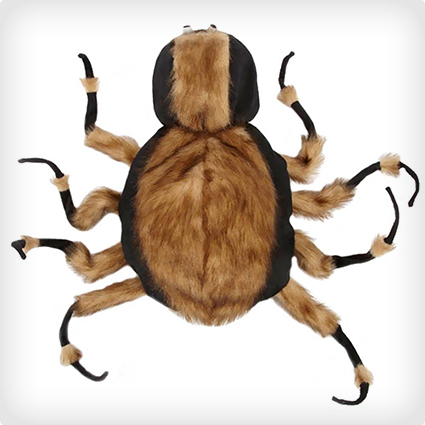 Fuzzy Tarantula Dog Costume