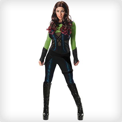 Gardian of the Galaxy Gamora Costume