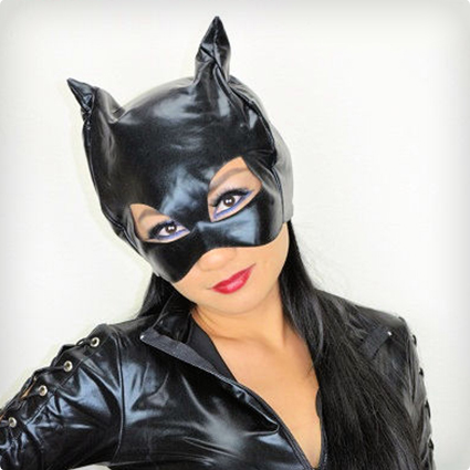 Glam Catwoman Make Up