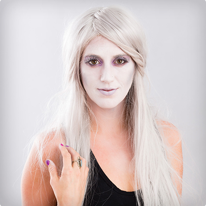 Gorgeous Ghost Make Up Tutorial