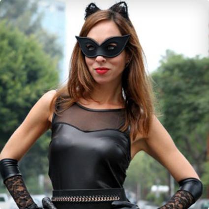 Homemade Catwoman Costume