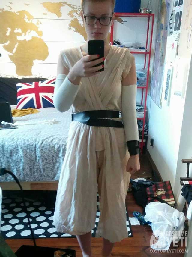 HomemadeStarWarsReyCostume