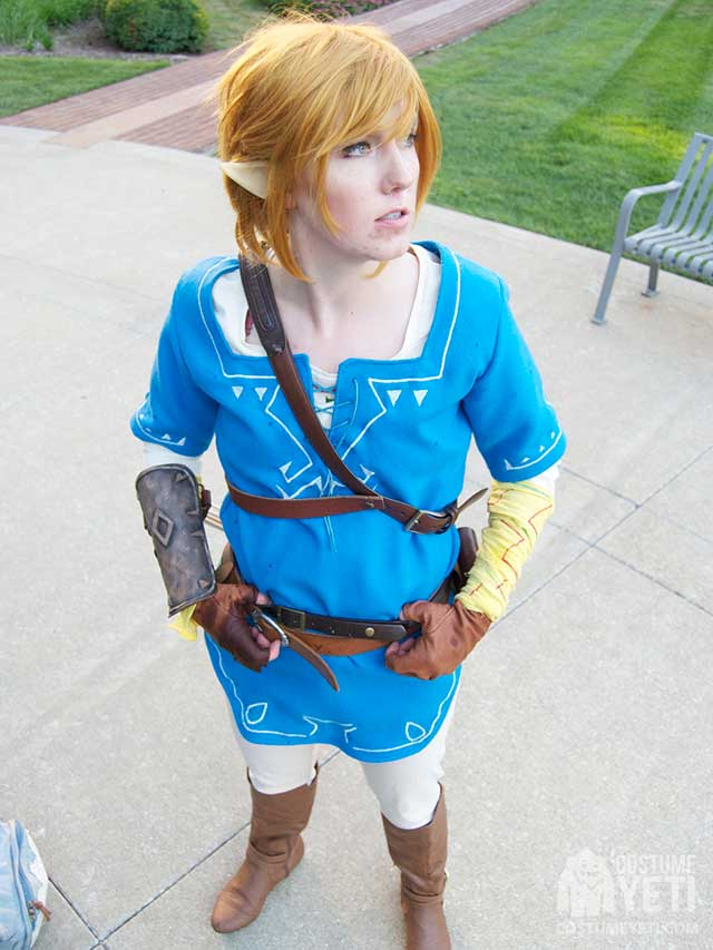 Link Costume Inspired By Breath Of The Wild Costume Yeti
