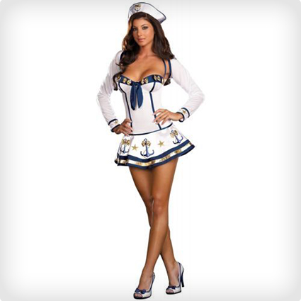 Makin Waves Sexy Sailor Suit