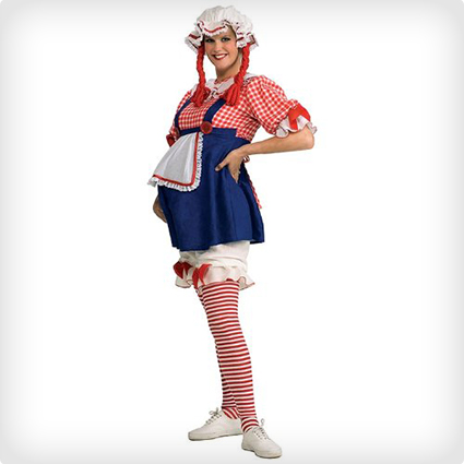 Maternity Rag Doll Costume