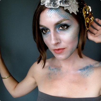 Mermaid Make Up Tutorial