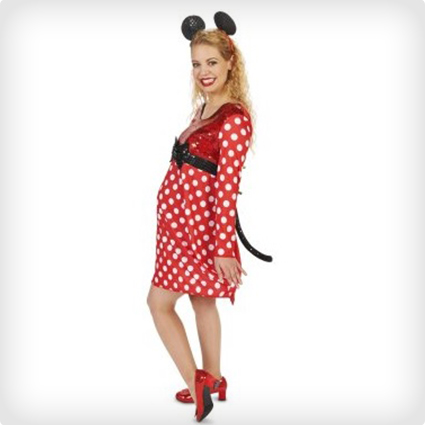 Minnie Mouse Maternity Costume
