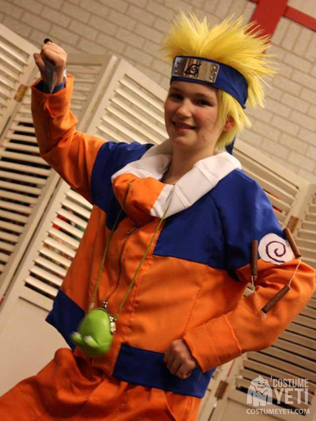 Homemade Naruto Costume