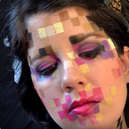 Pixelated Makeup Tutorial