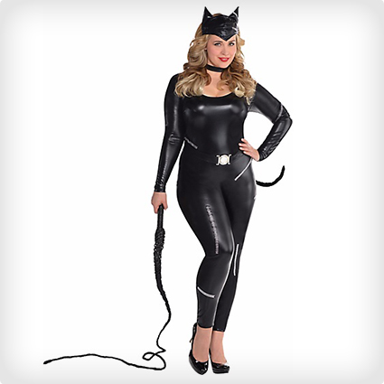 Plus Size Purrvocative Cat Costume