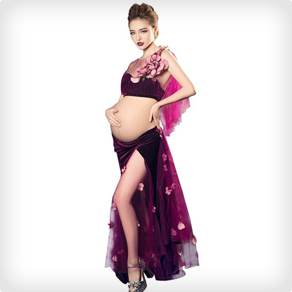 Pregnant Belly Dancer Costume