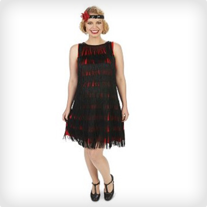 Pregnant Flapper Girl Costume