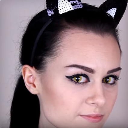 Purrfect Cat's Eyes Make Up Tutorial