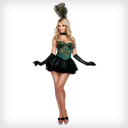Ravishing Peacock Costume