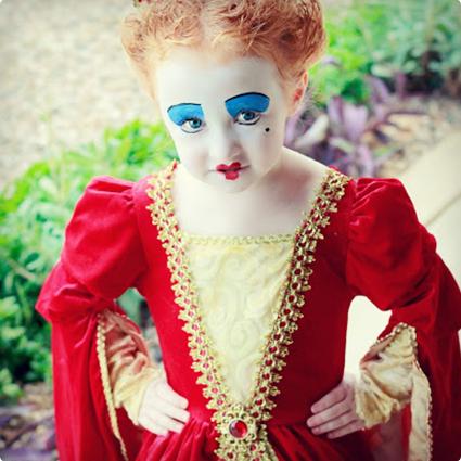 Red Queen Alice in Wonderland Make Up