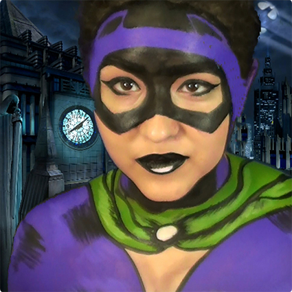 Retro Catwoman Bodypaint Tutorial