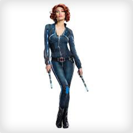 Sexy Black Widow Costume