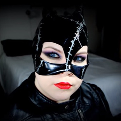 Sexy Catwoman Make Up Look