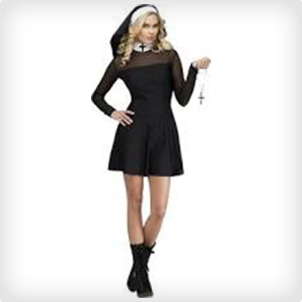 Sexy Sister Nun Costume