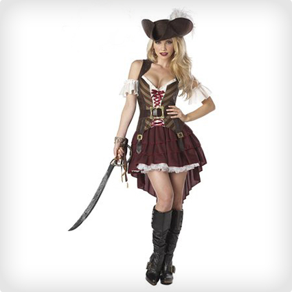 Sexy Swashbuckler Priate Costume