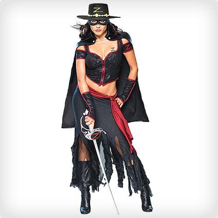 Sexy Zorro Costume