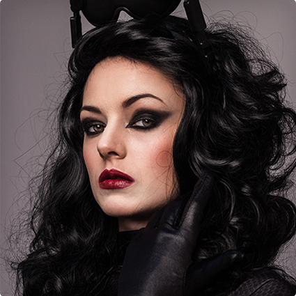 Vampy Catwoman Make Up Tutorial
