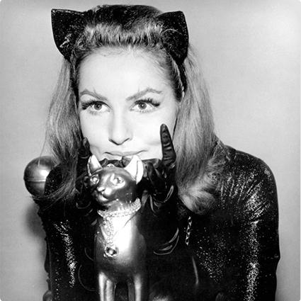Vintage Catwoman Make Up